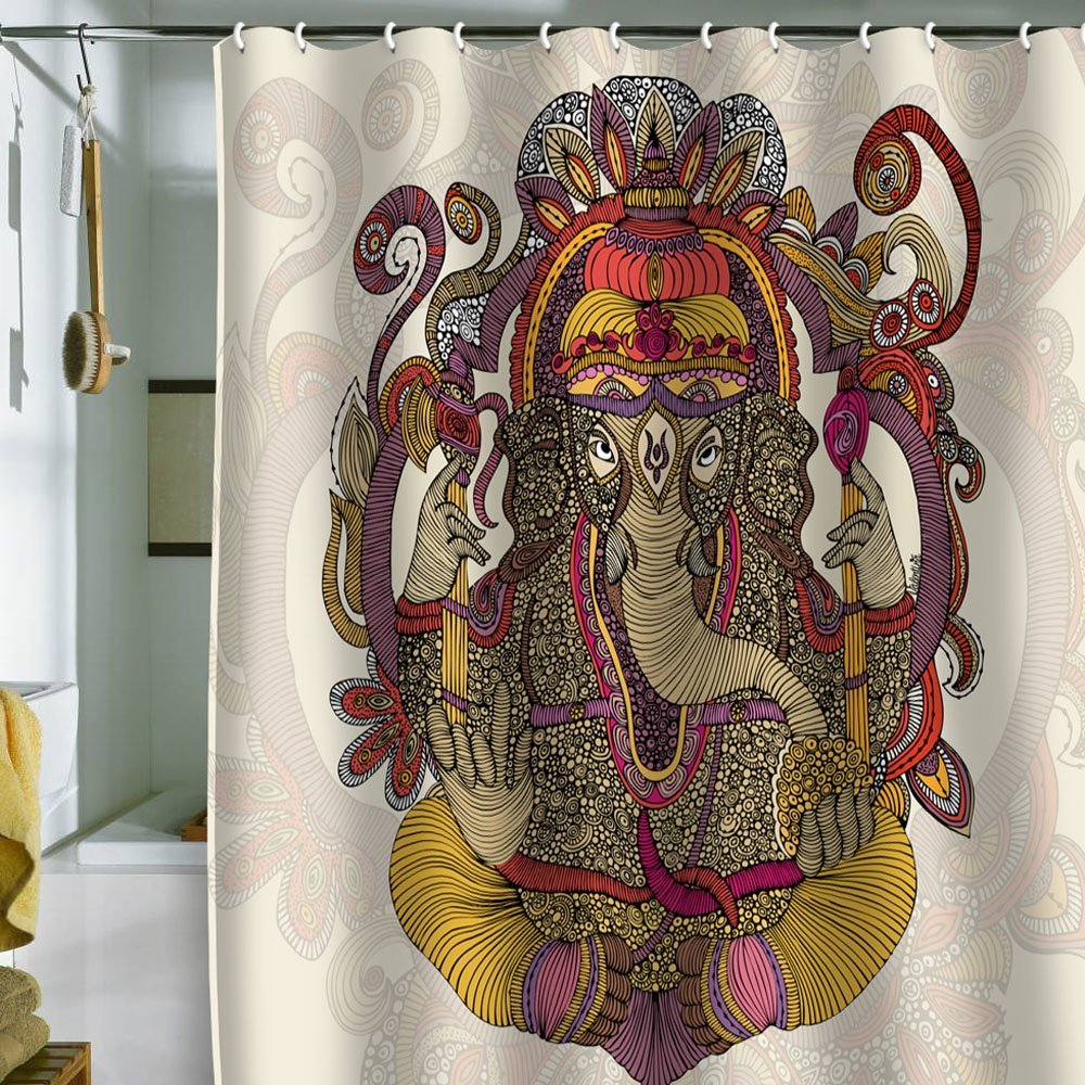Ganesha Shower Curtain